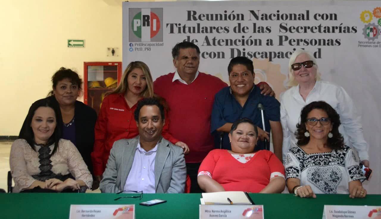 """EL PRI ABRE SU PROGRAMA """"VOY AL PRI"""" A PERSONAS CON DISCAPACIDAD EN TODO EL PAÍS"""