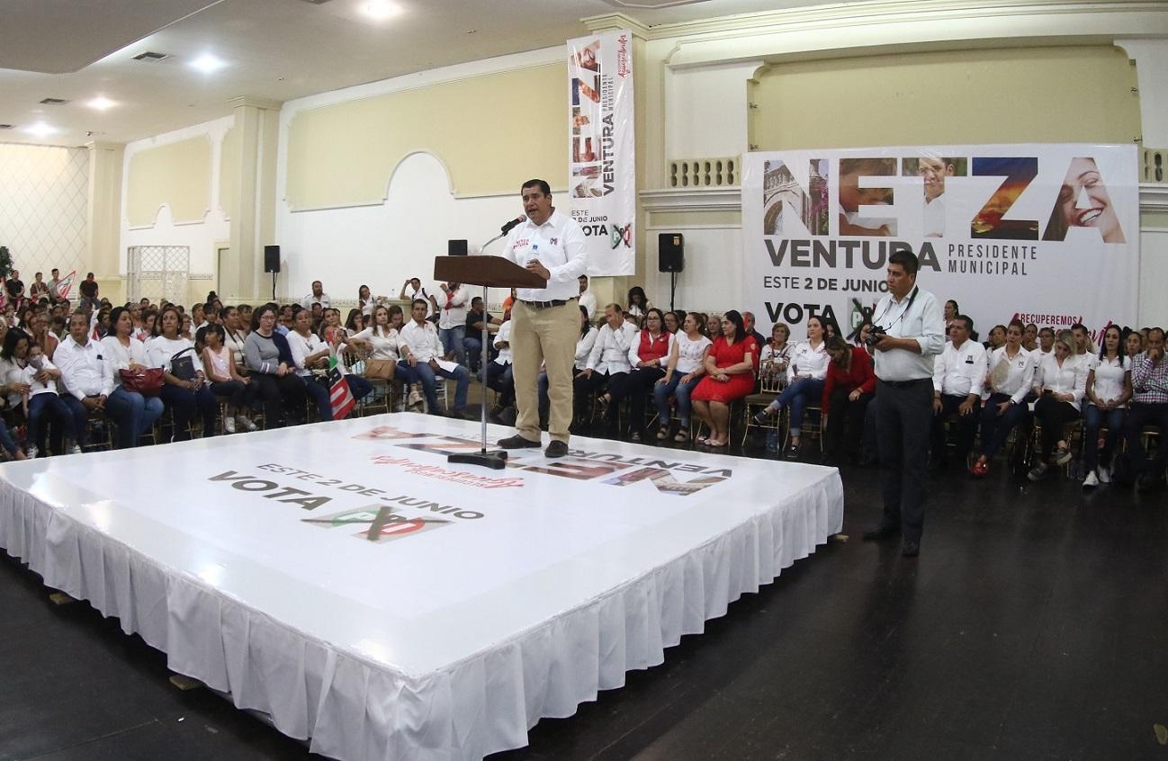 NETZA VENTURA FIRME EN EL CAMINO DE RECUPERAR AGUASCALIENTES EL PRÓXIMO 2 DE JUNIO