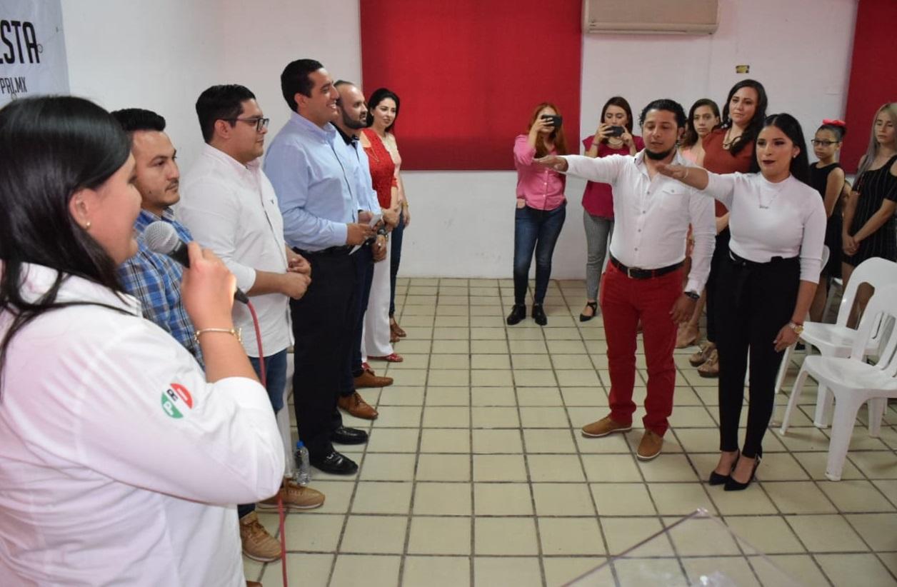 Toman protesta al Movimiento PRI.mx en el municipio de Guasave