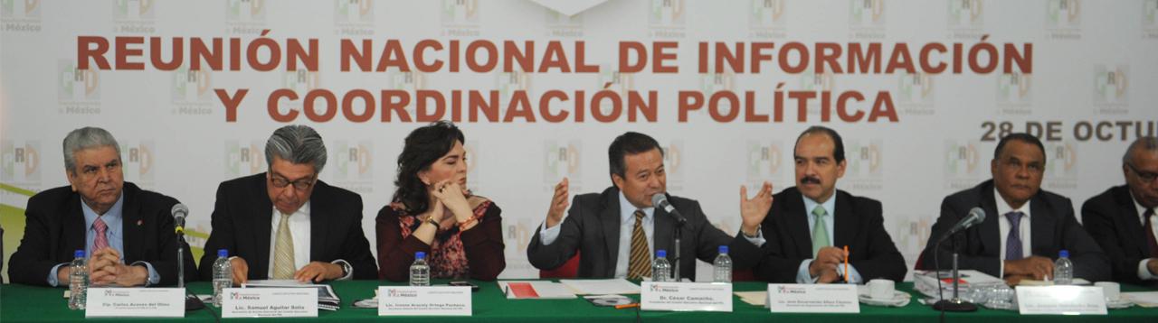 AMALGAMA PRIISMO ACCIÓN POLÍTICA PARA SU TRIUNFO DE 2015: CÉSAR CAMACHO
