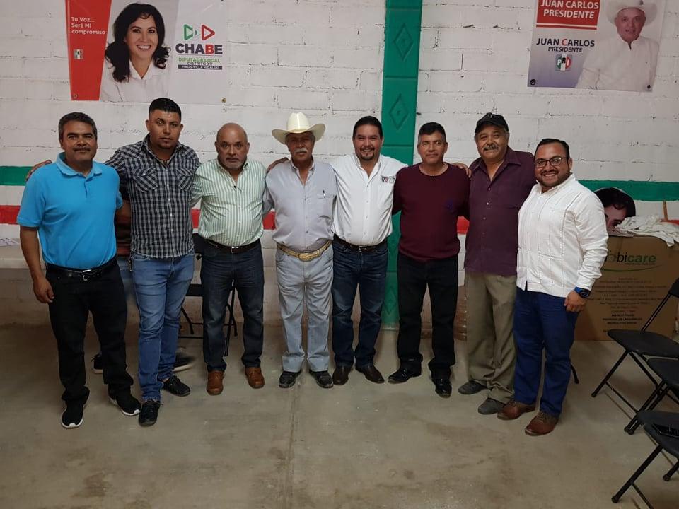 NOMBRA EL PRI NUEVO PRESIDENTE DEL CDM EN VILLA HIDALGO