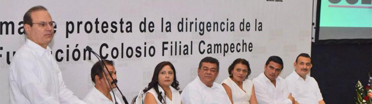 RENUEVAN DIRIGENCIA DE LA FUNDACIÓN COLOSIO EN CAMPECHE