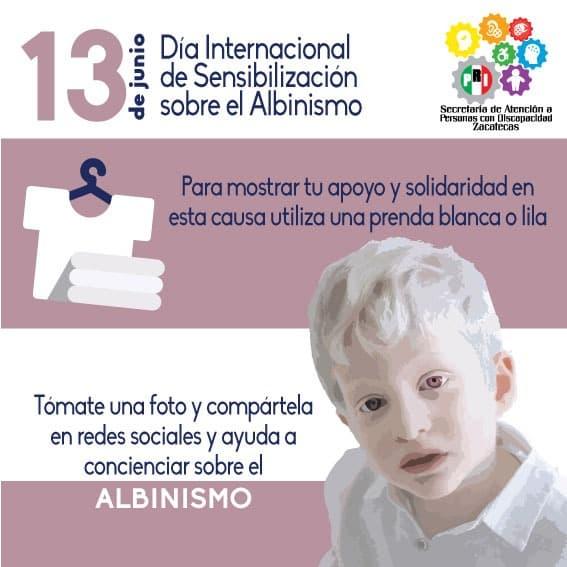 CONMEMORA PRI ESTATAL EL DÍA INTERNACIONAL DE SENSIBILIZACIÓN SOBRE EL ALBINISMO