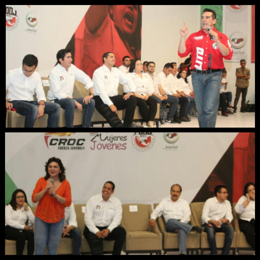 Realiza Red Jóvenes X México foro con candidatos a dirigir el CEN del PRI