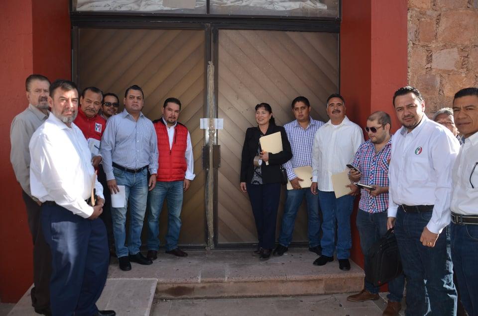 ENTREGA PRI BOLETAS ELECTORALES A ENLACES OPERATIVOS DISTRITALES