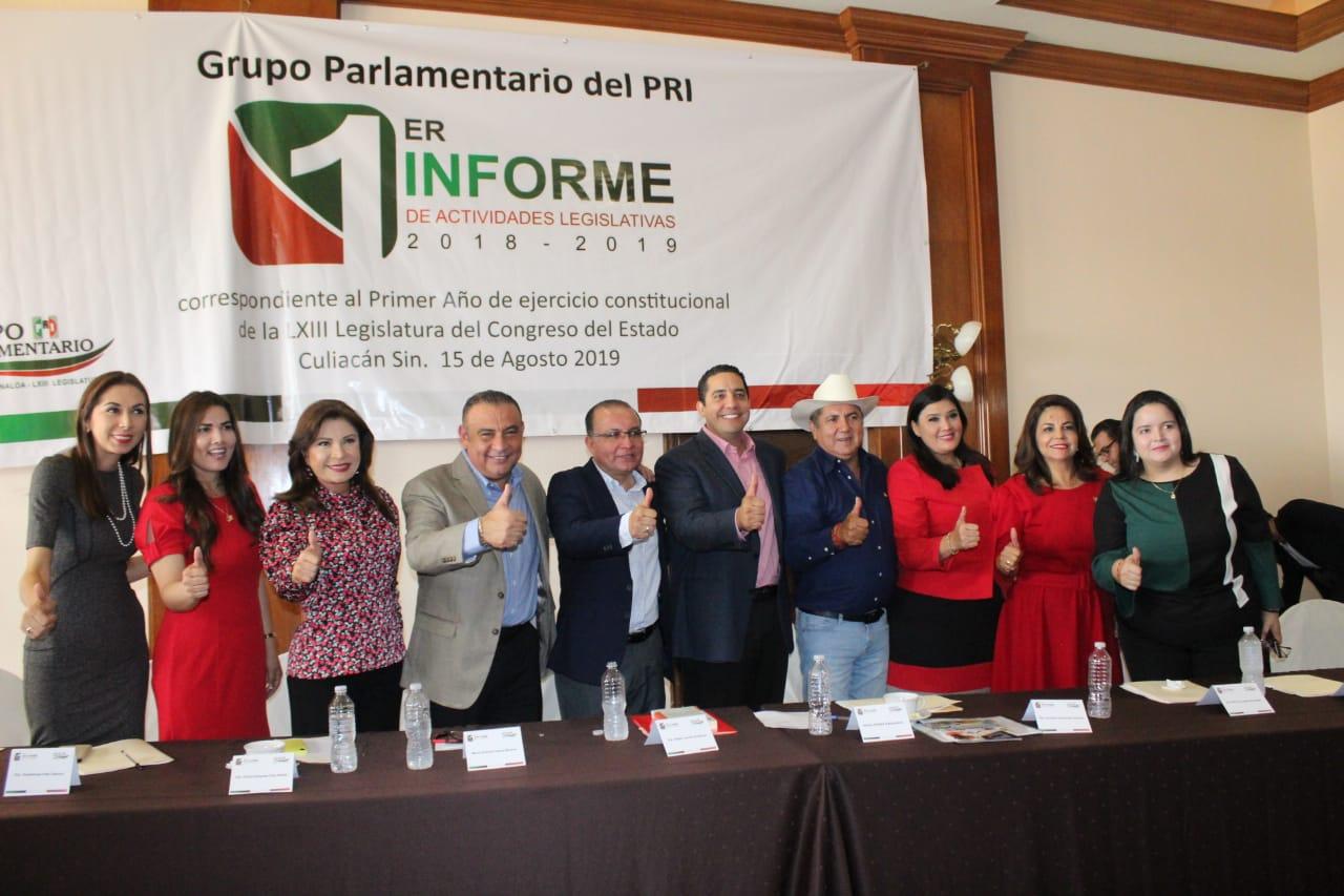 Reconoce CDE del PRI excelente labor de diputados en Congreso del Estado
