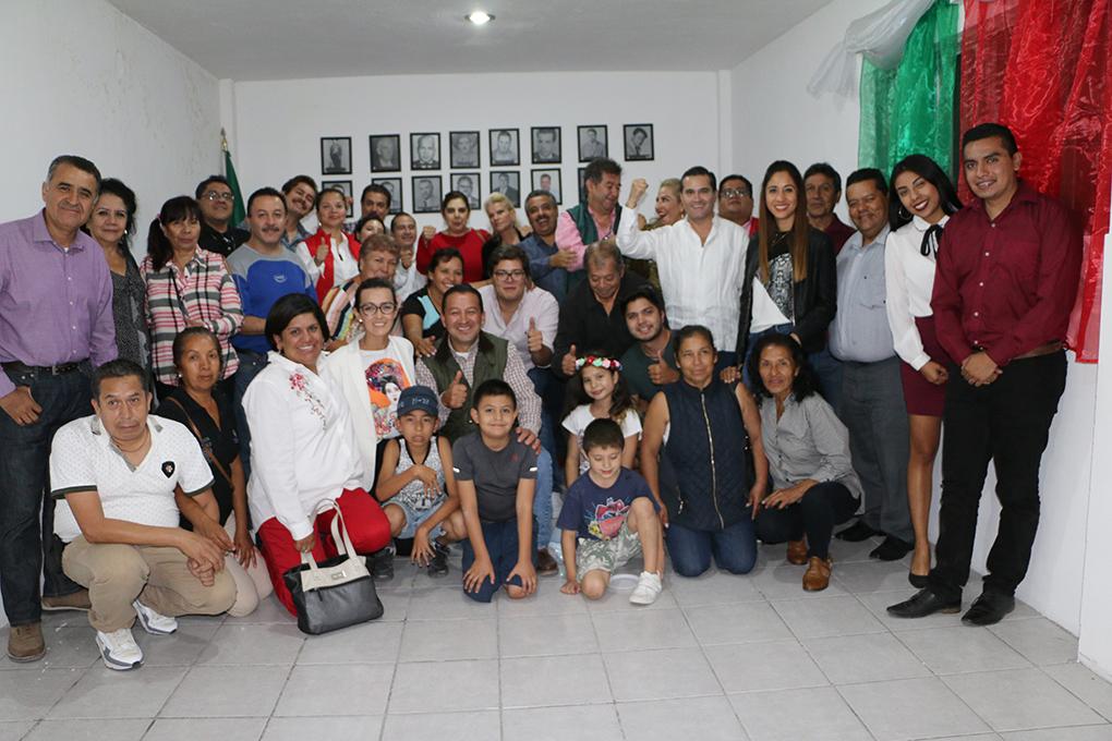 Reabre oficinas e inaugura Salón Presidentes PRI de Purísima del Rincón.