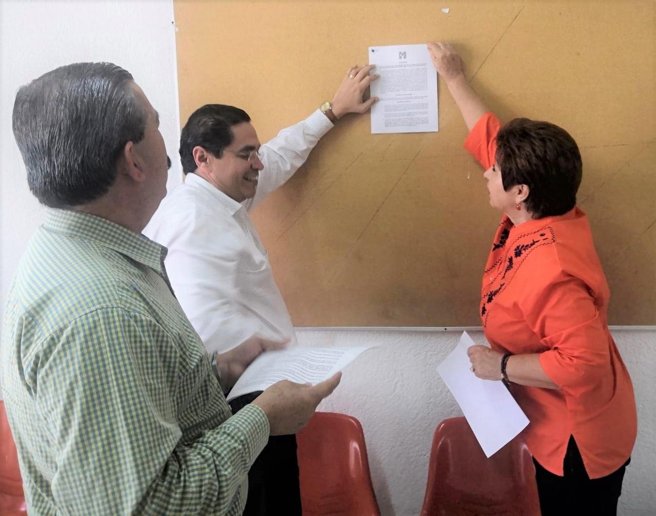 PUBLICACIÓN EN ESTRADOS DE LA CONVOCATORIA PARA LA ELECCIÓN DE LAS Y LOS INTEGRANTES DEL SÉPTIMO CONSEJO POLÍTICO NACIONAL DEL PARTIDO REVOLUCIONARIO INSTITUCIONAL PARA EL PERIODO ESTATUTARIO 2019-2022