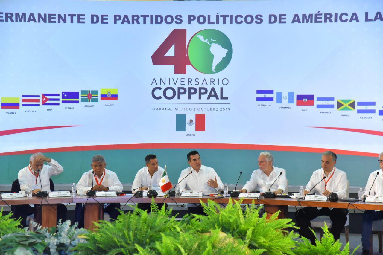 PUGNA ALEJANDRO MORENO PORQUE LA CONFERENCIA PERMANENTE DE PARTIDOS POLÍTICOS DE AMÉRICA LATINA Y EL CARIBE SE CONVIERTA EN UNA ORGANIZACIÓN MODERNA QUE ABANDERE UNA PROPUESTA DE AVANZADA Y CONTRIBUYA A MEJORAR LA CALIDAD DE VIDA DE LOS PUEBLOS