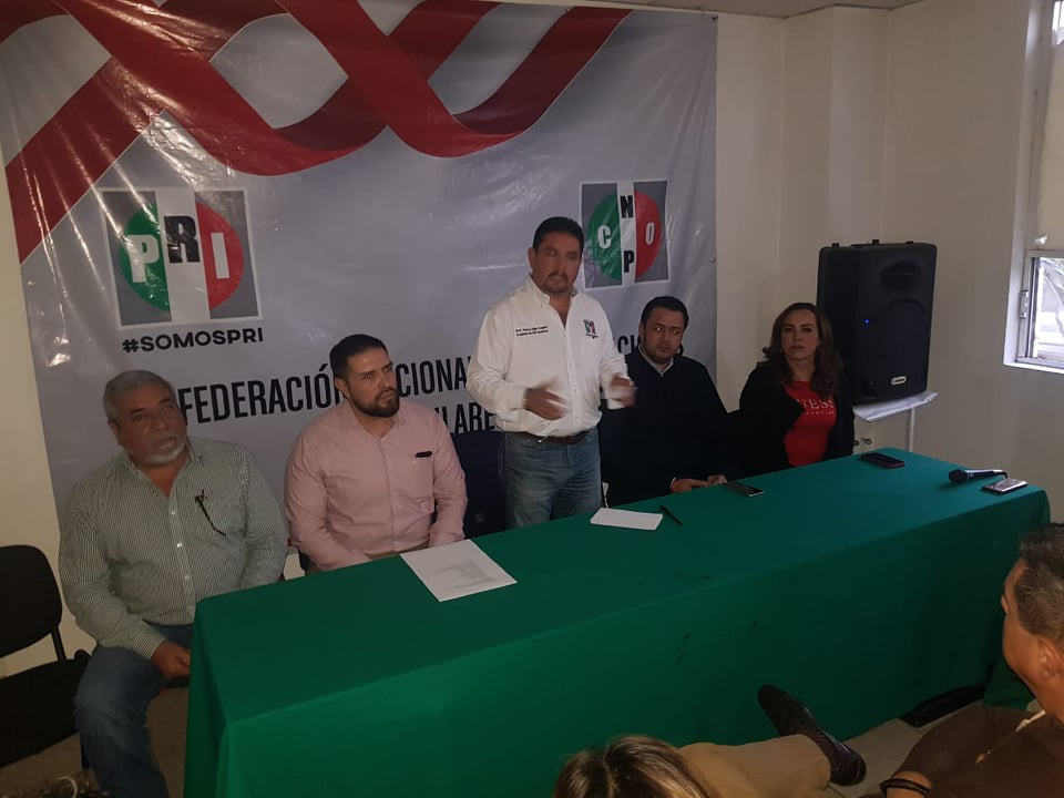 RECONOCE GUSTAVO URIBE GÓNGORA TRABAJO Y CONSOLIDACIÓN DE LA CNOP EN EL ESTADO