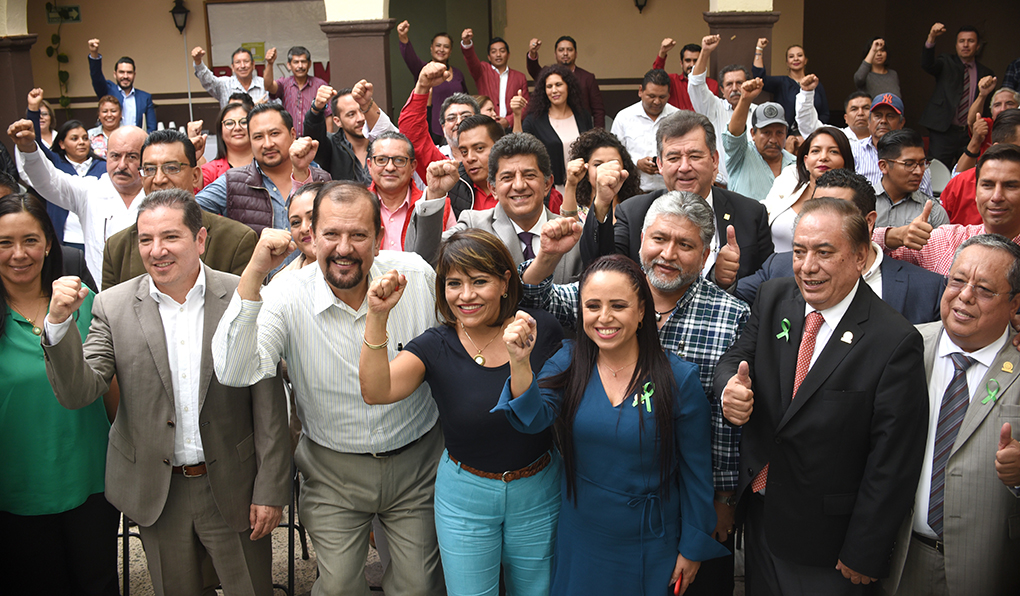 Manuel Cota Jiménez, secretario Regional del Comité Ejecutivo Nacional CEN del PRI, sostuvo varios encuent...