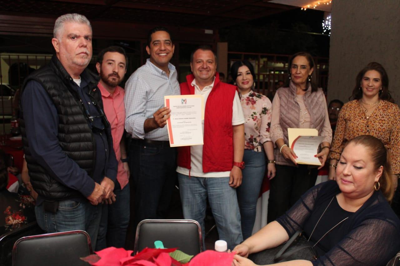 Vamos a renovar y legitimar cada uno de los 3804 seccionales de Sinaloa: Jesús Valdés