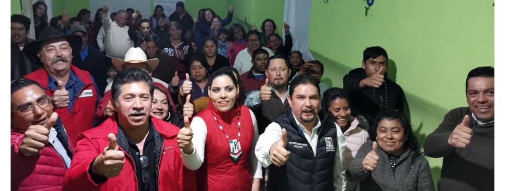 RINDEN PROTESTA NUEVOS SECRETARIOS DEL PRI EN SUSTICACÁN