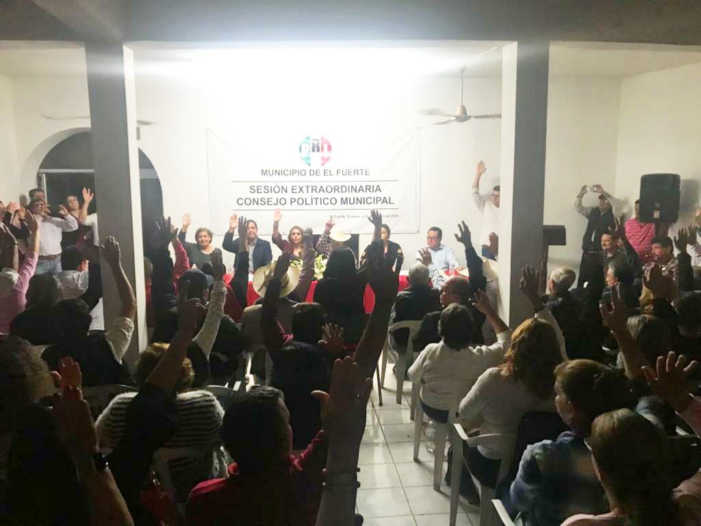 POR ASAMBLEA DE CONSEJEROS MUNICIPALES, SE ELEGIRÁ LA NUEVA DIRIGENCIA MUNICIPAL DEL PRI EL FUERTE