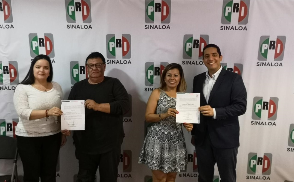 ENTREGA EL PRI NOMBRAMIENTOS EN LAS NUEVAS DIRIGENCIAS DE CHOIX, EL ROSARIO Y ESCUINAPA