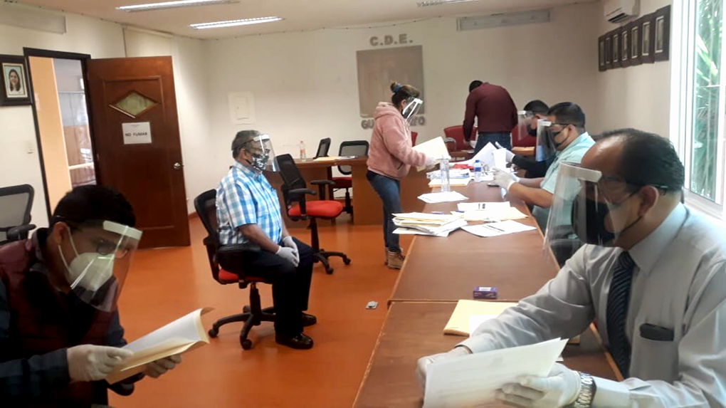REGISTRA PRI ASPIRANTES AL PROCESO DE ELECCIÓN E INTEGRACIÓN DE CONSEJOS POLÍTICOS MUNICIPALES