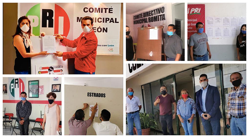 INICIA PRI RENOVACIÓN DE SUS 3,141 COMITÉS SECCIONALES.