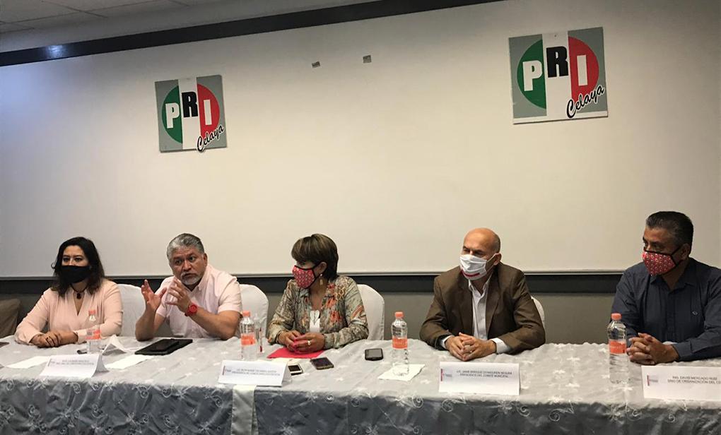 COMPLICIDADES CON EL MARRO SE DEBEN SOPORTAR CON PRUEBAS: PRI