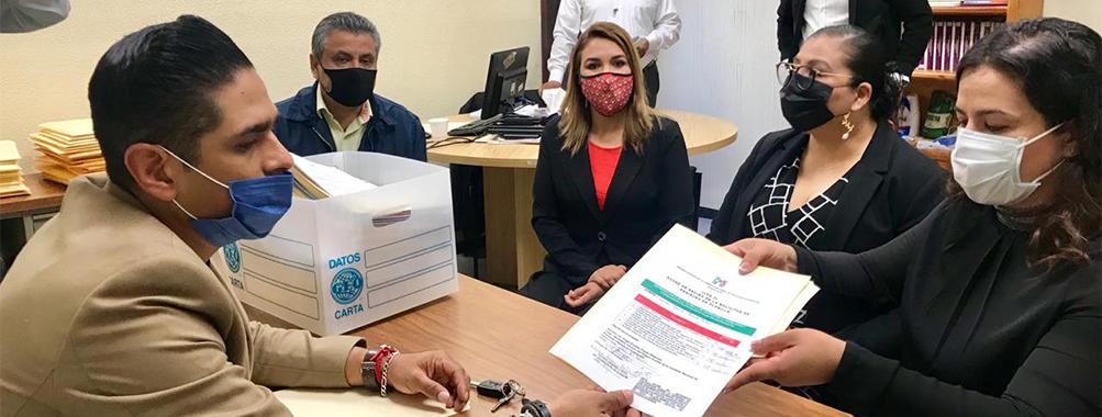 """SE REGISTRA PLANILLA """"ROJA"""" PARA INTEGRAR EL CONSEJO POLÍTICO ESTATAL 2020-2023 DEL PRI."""