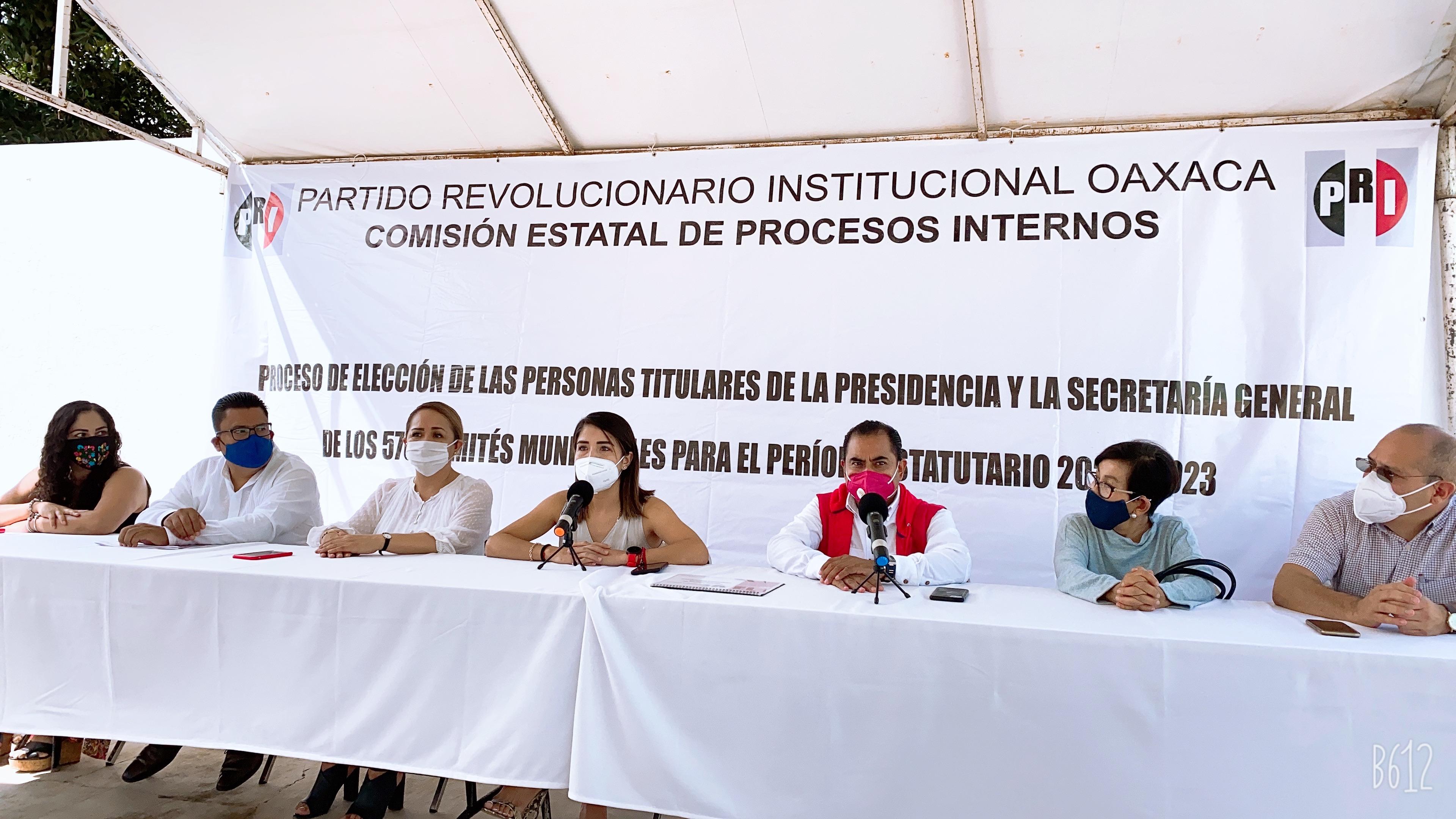 INICIA EL REGISTRO DE FÓRMULAS PARA LOS COMITÉS MUNICIPALES DEL PRI