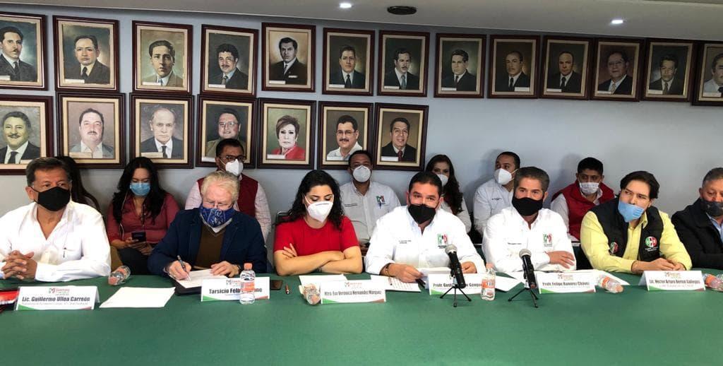 EL PRI TIENE PROYECTO POLÍTICO CLARO Y VOLUNTAD DE APERTURA: GUSTAVO URIBE
