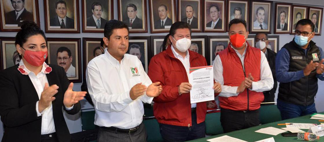 CONSEJO POLÍTICO DEL PRI NOMBRA A ADOLFO BONILLA COORDINADOR ESTATAL DE AFILIACIÓN Y REFRENDO DE MILITANCIA