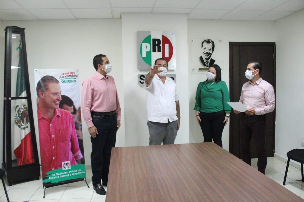 RINDE PROTESTA GERMAN ESCOBAR MANJARREZ, COMO SECRETARIO DE AGRICULTURA DEL CDE DEL PRI SINALOA