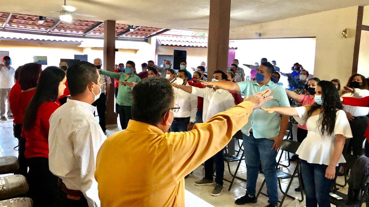 CONTAMOS CON UNA ESTRUCTURA ORGANIZADA QUE NOS LLEVARÁ A RECUPERAR ESPACIOS EN EL 2021: CINTHIA VALENZUELA