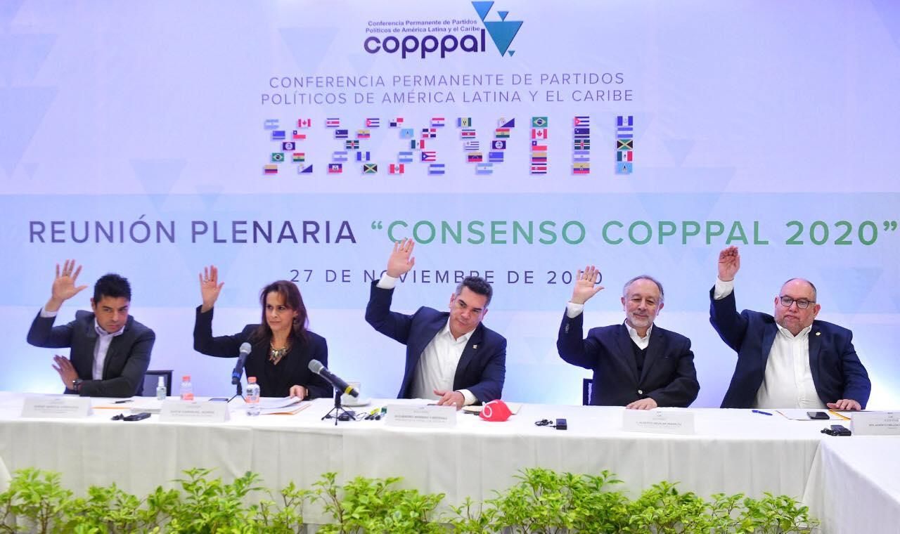 """CONVOCA ALEJANDRO MORENO A IMPULSAR EL CONSENSO COPPPAL 2020, PARA CONSTRUIR UNA """"PATRIA GRANDE"""