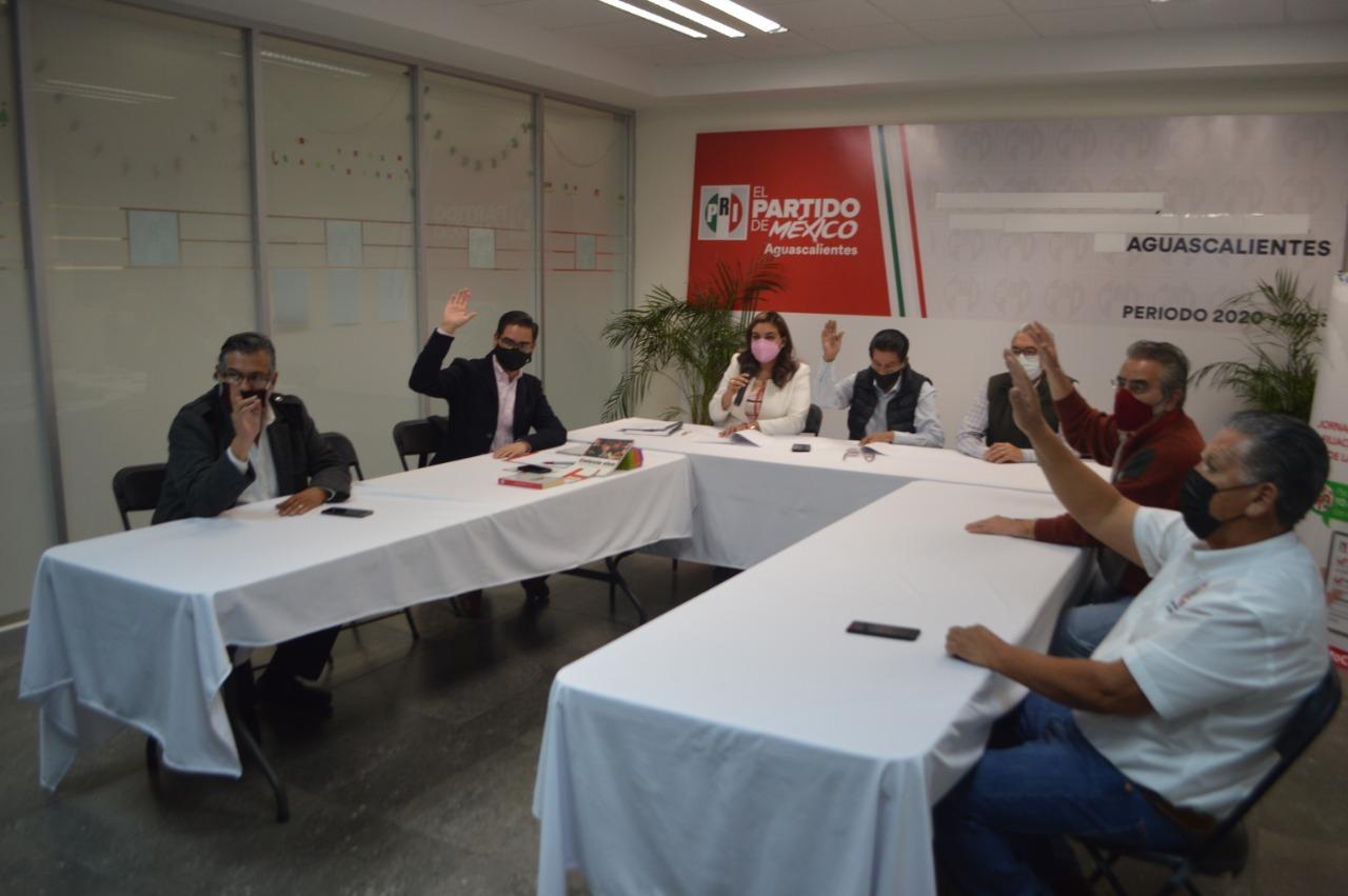 LA COMISIÓN POLÍTICA PERMANENTE DEL PRI APRUEBA LAS PLATAFORMAS POLÍTICAS DE LOS 11 MUNICIPIOS Y LEGISLATIVA DE PARTICIPACIÓN EN EL PROCESO ELECTORAL 2020-2021