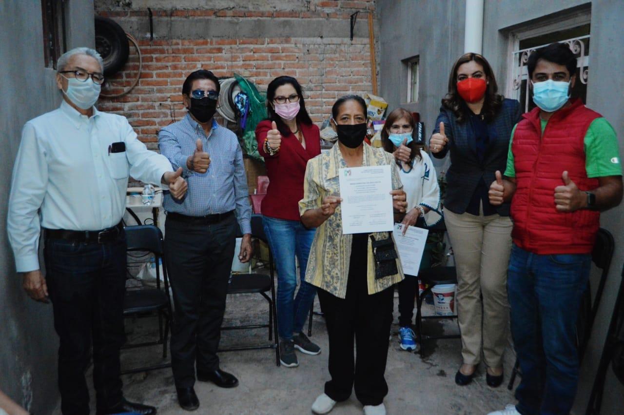 AGUASCALIENTES MERECE UN NUEVO RUMBO: BLANCA RIVERA RIO