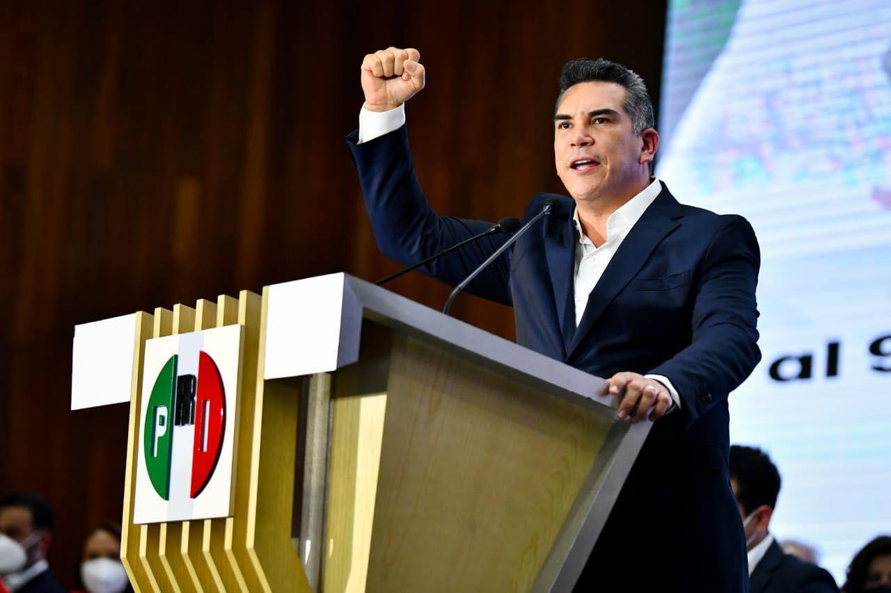 EL PRI ES EL ÚNICO QUE HA CONDUCIDO A MÉXICO POR LA CERTIDUMBRE Y LA EFICACIA: ALEJANDRO MORENO