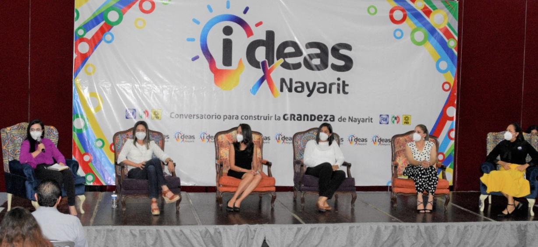 LAS MUJERES TENEMOS LA CAPACIDAD Y LAS IDEAS PARA CAMBIAR NAYARIT: GLORIA NÚÑEZ