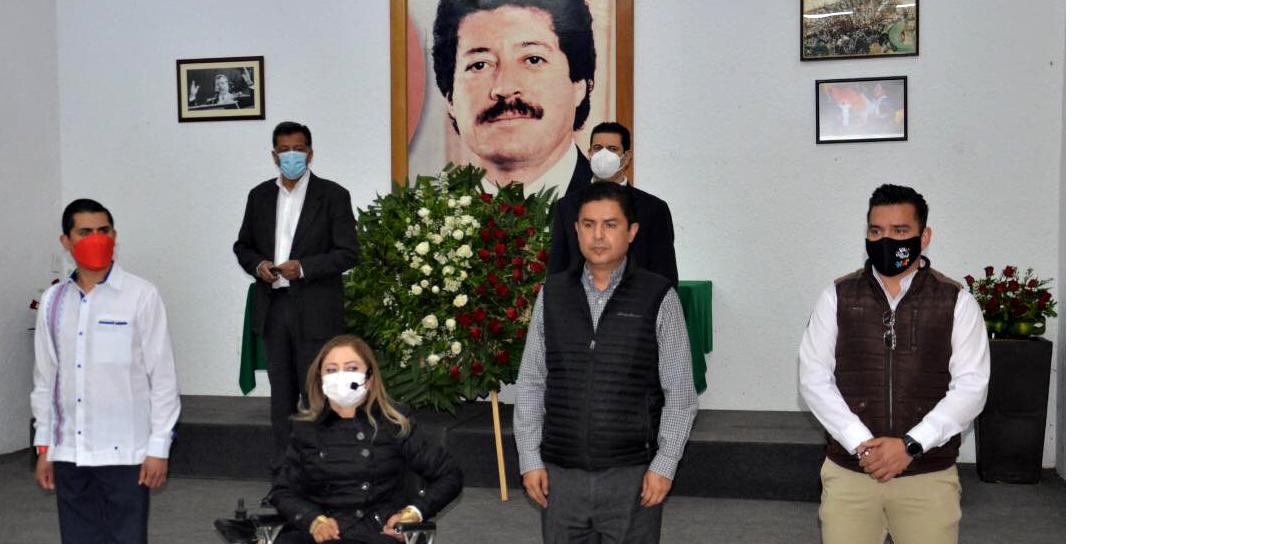 CON OBJETIVIDAD, HUMILDAD Y EL LEGADO DE COLOSIO, EL PRI TRIUNFARÁ EL 6 DE JUNIO: ENRIQUE FLORES
