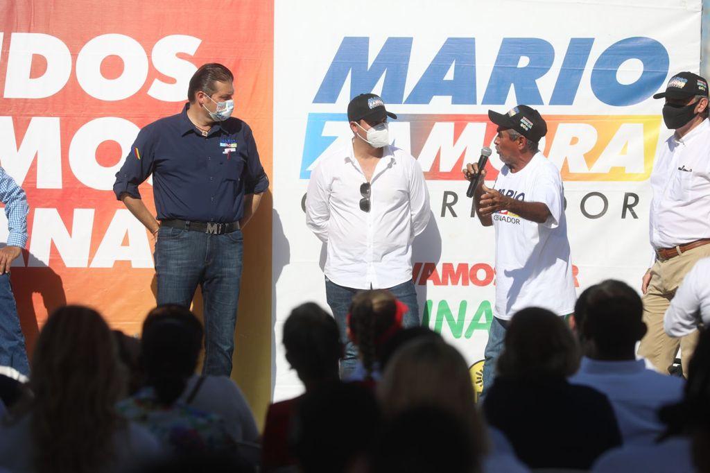 FUERA MÁSCARAS: PESCADORES VAN CON MARIO ZAMORA
