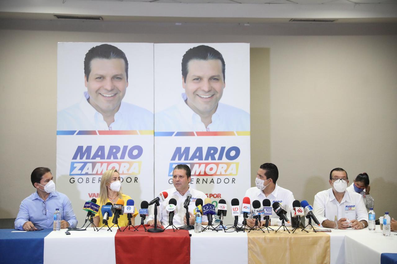 LA NUESTRA, UNA CAMPAÑA DE PROPUESTAS PARA SERVIR A LOS DEMÁS, REITERA MARIO ZAMORA