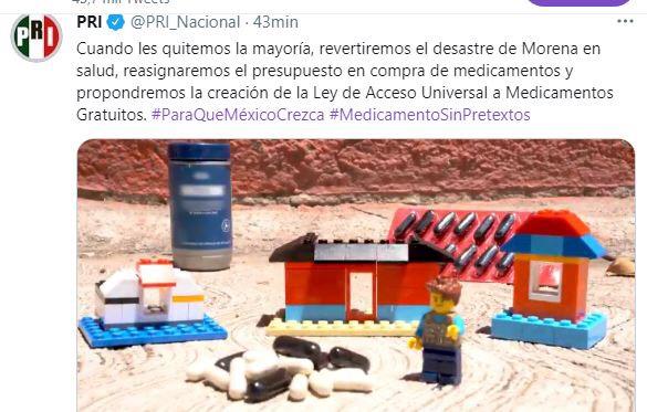 PROPONE PRI LA CREACIÓN DE LA LEY DE ACCESO UNIVERSAL A MEDICAMENTOS GRATUITOS