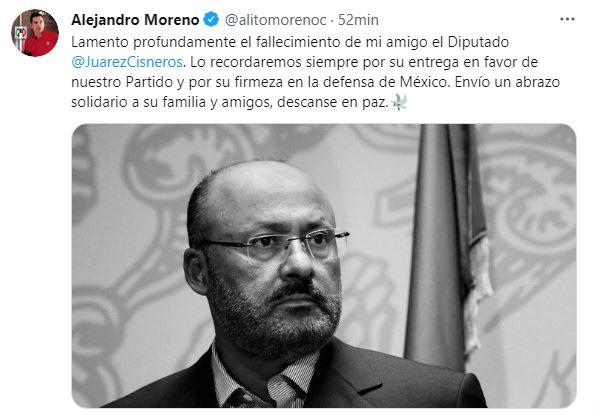 RENÉ JUÁREZ, UN HOMBRE DE TRABAJO Y AMOR POR MÉXICO: PRI