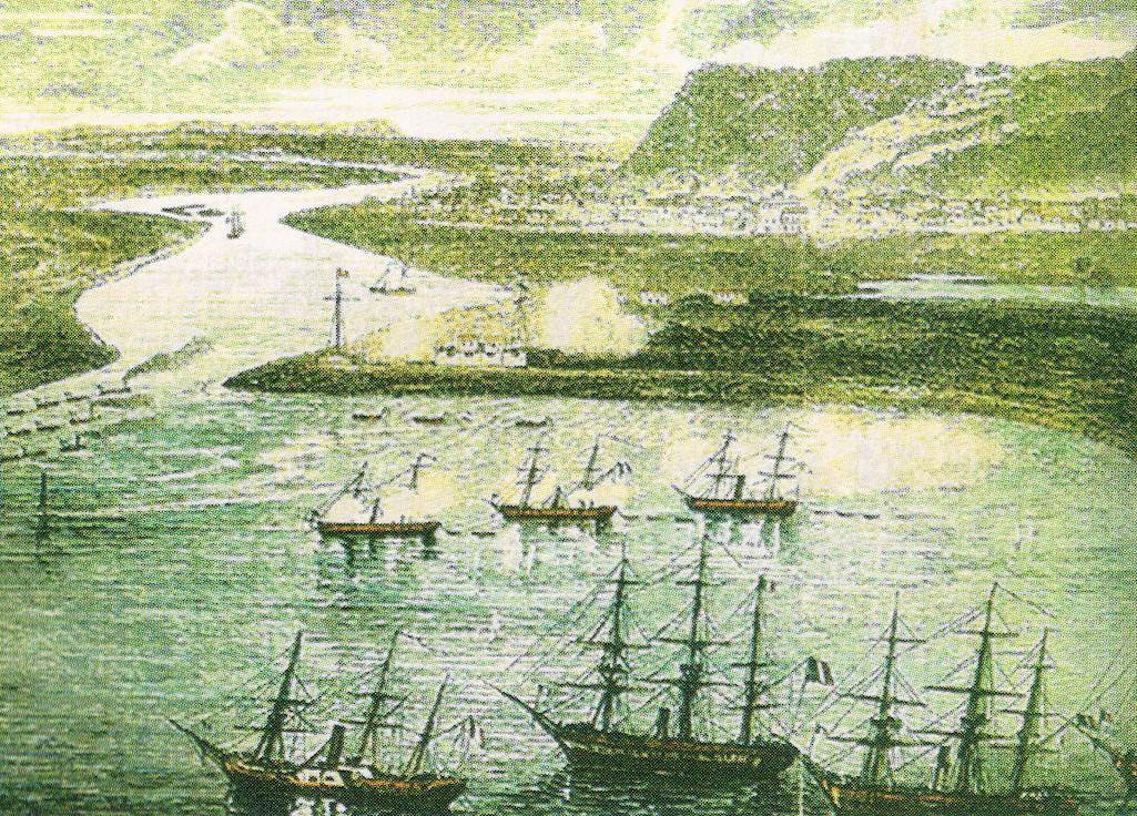 """1864, Llegó al Puerto de Altata el buque de guerra francés """"Lucifer"""""""