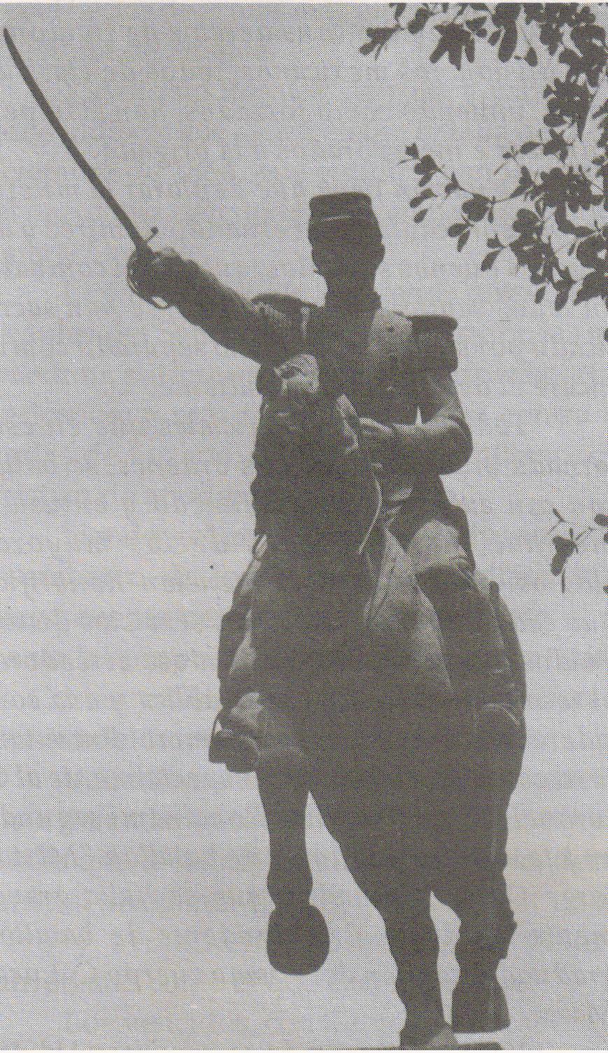 1864, Se escenificó la entrada triunfal a la capital del estado del coronel Antonio Rosales y su ejército