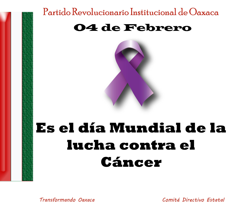 04 de Febrero, Día Mundial de la lucha contra el Cáncer