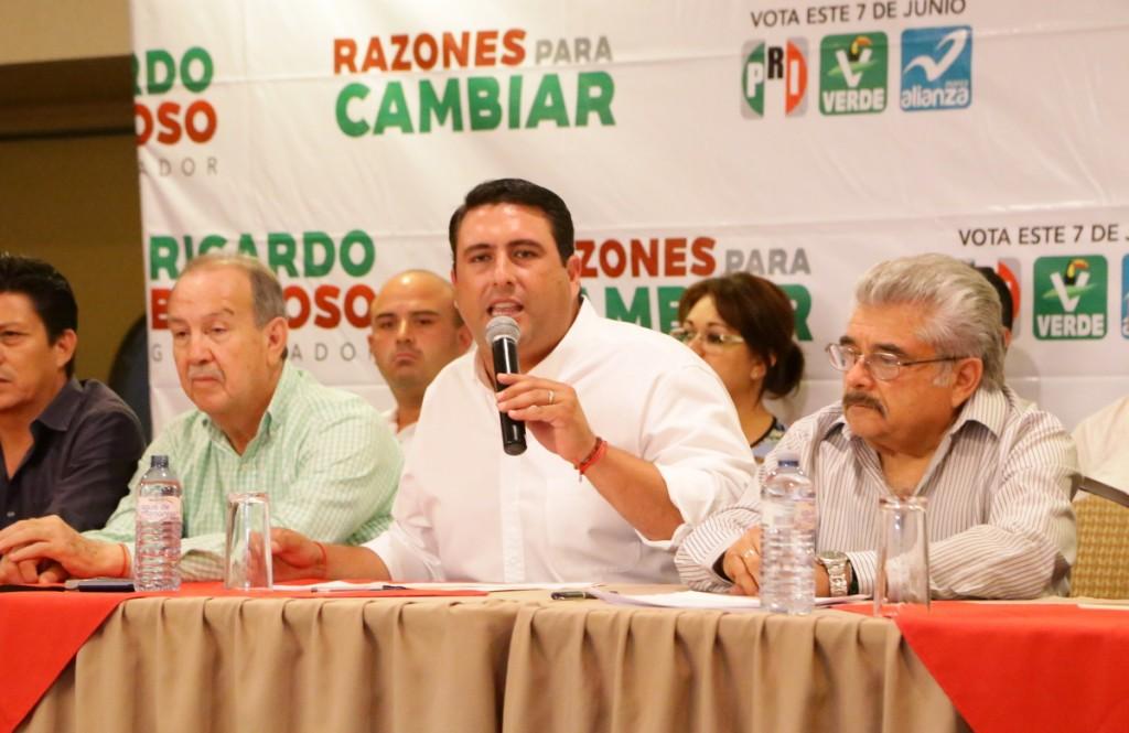IMPUGNARÁ EL PRI ELECCIÓN EN BCS, ANUNCIÓ RICARDO BARROSO