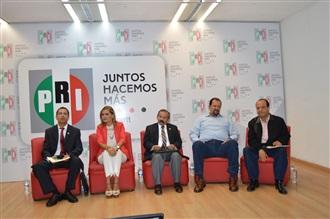 """PRESENTACIÓN DEL LIBRO """"HISTORIA BÁSICA DEL PRI"""" DE ALBERTO GÓMEZ LUNA"""