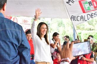 CIERRA MARIANA MOGUEL CAMPAÑA EN EL CORAZÓN DE MILPA ALTA