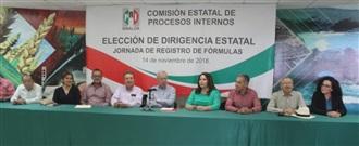 INSTALA CDE DEL PRI EN SINALOA  MESA DE REGISTRO