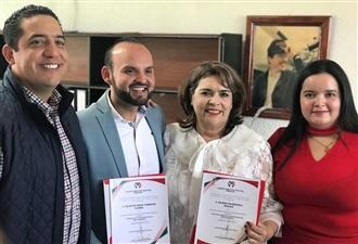 RINDE PROTESTA NUEVA DIRIGENCIA INTERINA DEL COMITÉ MUNICIPAL DEL PRI EN GUASAVE