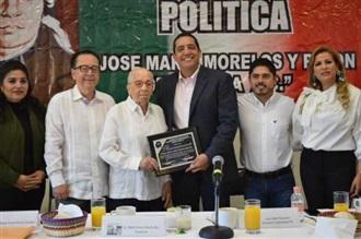 RECONOCE CDE DEL PRI AL MAZATLECO MARIO ARTURO HUERTA SÁNCHEZ
