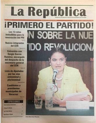 """""""Los 13 retos ineludibles para la renovación del PRI"""