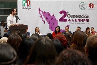 """""""Inicia la 2a Generación de la Escuela Nacional de Mujeres Priistas"""