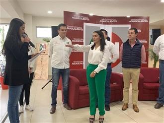 LUZ MARÍA HERNÁNDEZ ES DELEGADA EN FUNCIONES DE PRESIDENTA DE LA RED JUVENTUD POPULAR EN AGUASCALIENTES: PRI
